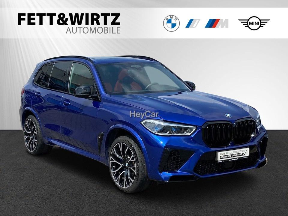 BMW X5 M Competition B&W SkyLounge AHK PA+ DA+ Laser, Jahr 2020, Benzin