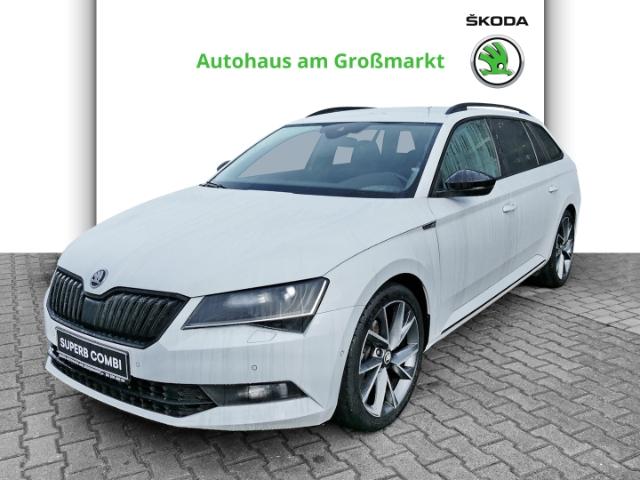 Skoda Superb Combi SportLine 2.0 TSI DSG 162kW 220PS, Jahr 2017, Benzin