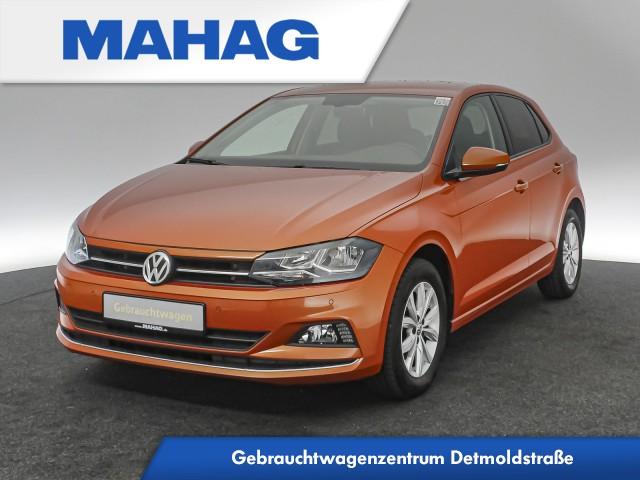 Volkswagen Polo 1.0 TSI Highline Navi ActiveInfo Sitzhz. ParkAssist FrontAssist 15Zoll DSG, Jahr 2018, Benzin