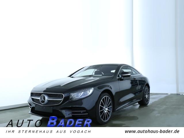 Mercedes-Benz S 560 4Matic Coupe AMG Line Plus Massage Standhzg, Jahr 2018, Benzin