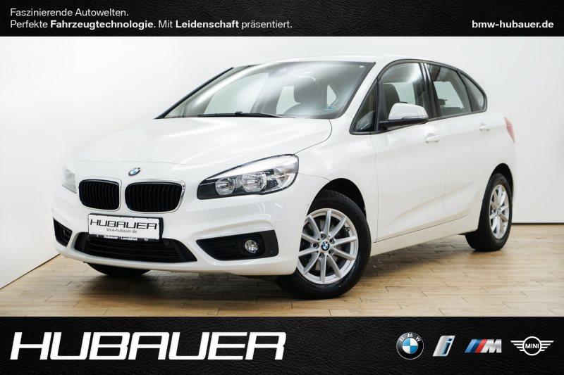 BMW 218i Active Tourer [Advantage, Navi, PDC, SHZ], Jahr 2016, petrol