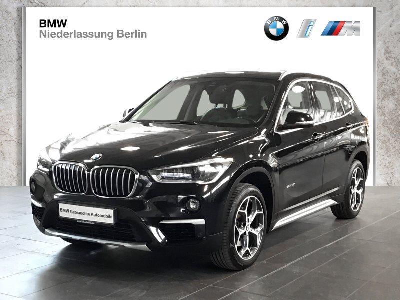 BMW X1 sDrive18i EU6 xLine Leder LED Panoramadach, Jahr 2017, Benzin