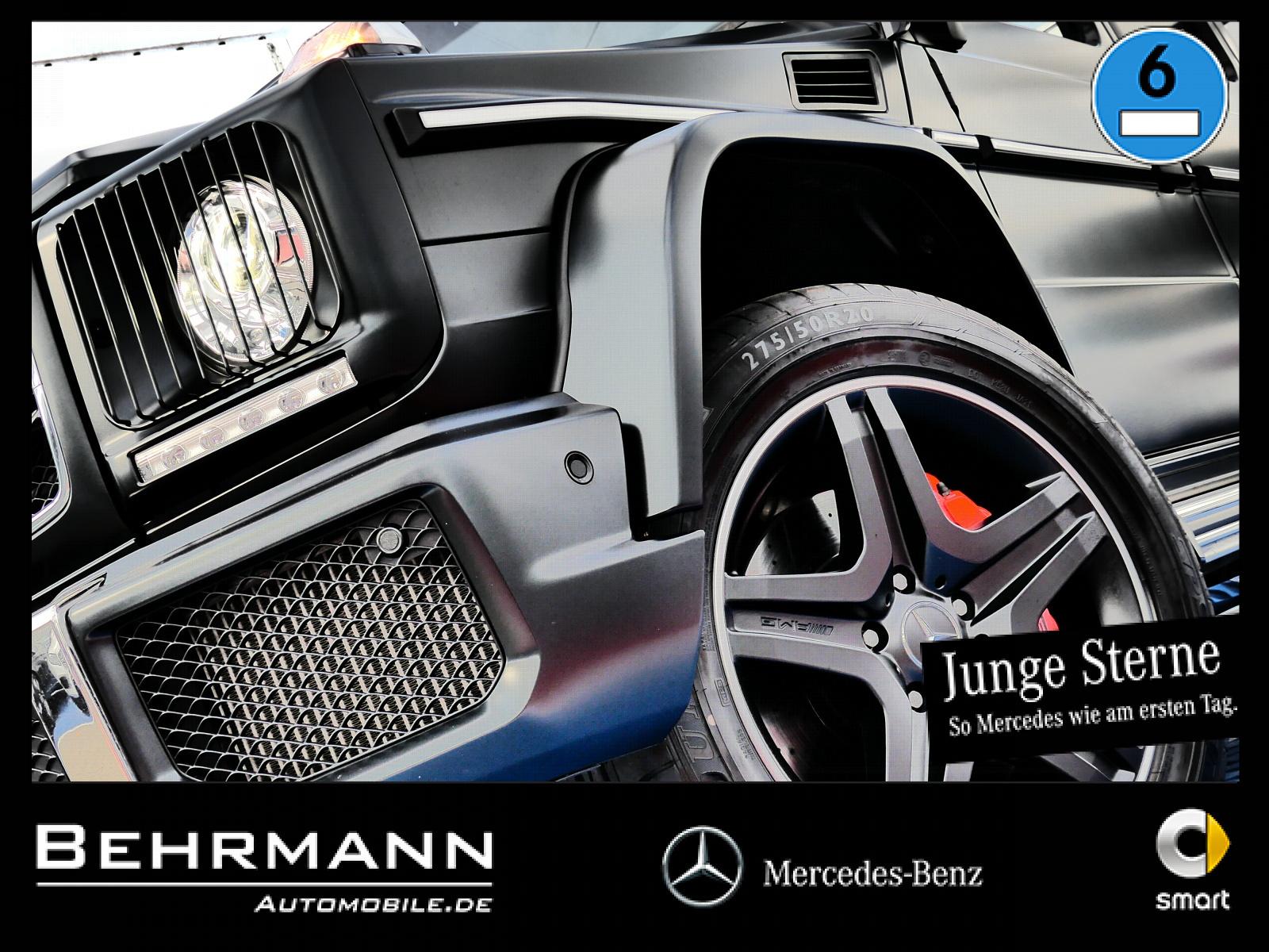 Mercedes-Benz G 63 AMG +Designo Extra+Standhzg.+R-Kamera+LED++, Jahr 2017, Benzin