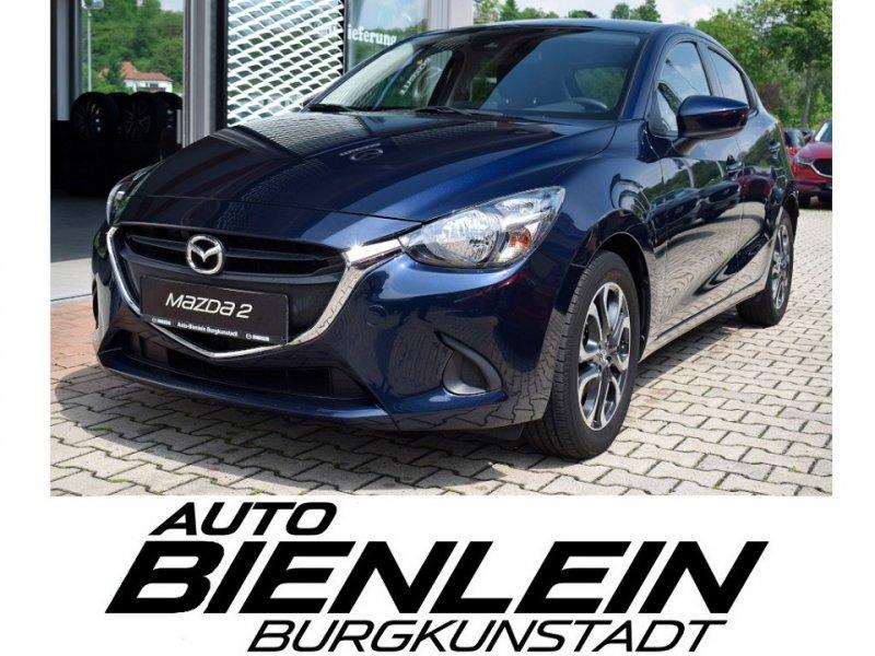 Mazda 2 1.5 90PS Kizoku DAB Klimaautomatik Sitzheizung Scheinwerfer Halogen Licht- & Regensensor Einparkhilfe hinten uvm., Jahr 2017, Benzin