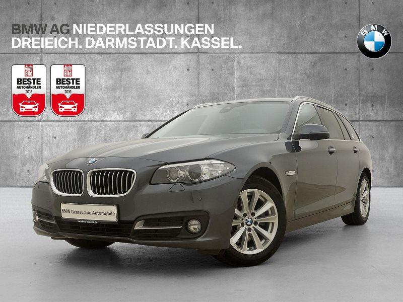 BMW 518d Touring Head-Up HiFi RFK Navi Prof. RTTI, Jahr 2016, Diesel