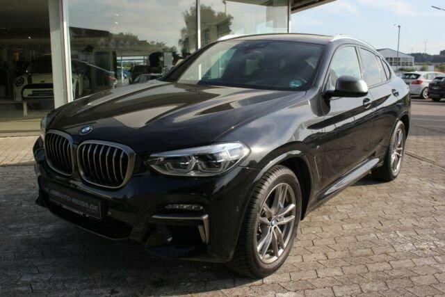 BMW X4 M40iA LEDER PANO LED HUD DAB HiFi ACC AHK, Jahr 2020, Benzin