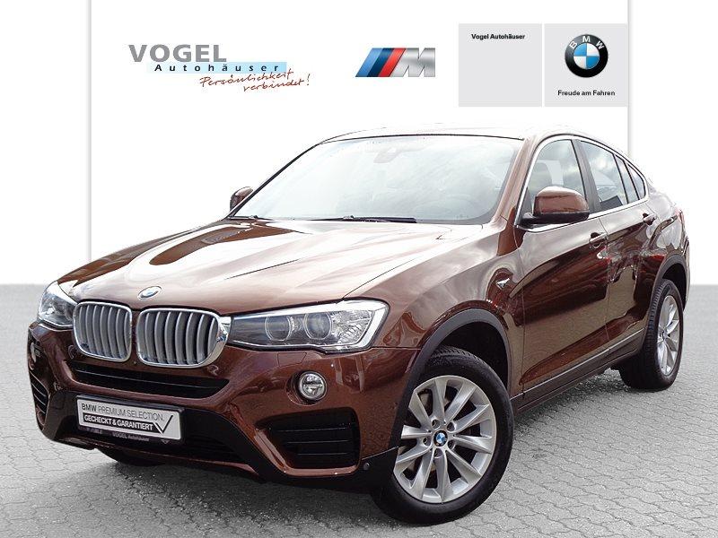 BMW X4 xDrive30d Modell Advantage Euro 6 Navi Prof Head-Up Display Rückfahrkamera PDC Driving Assistant Klima Sitzheizung Speed Limit Info Xenon Lichtpaket Tempomat, Jahr 2018, Diesel