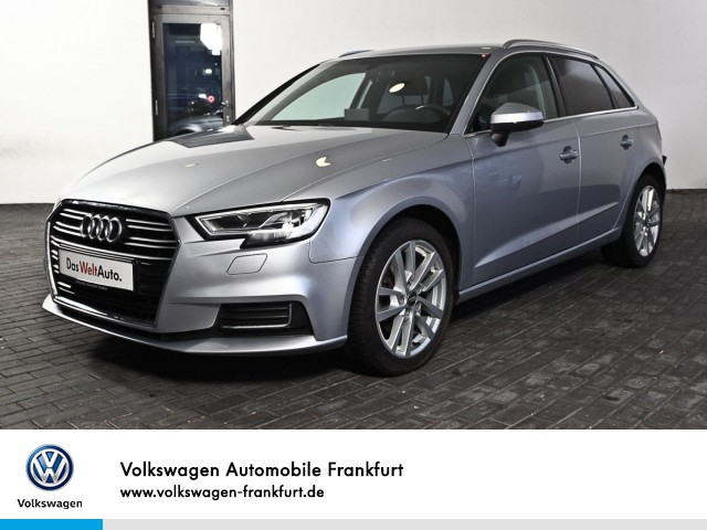 Audi A3 Sportback 1.6 TDI Design Navi Klima LED-Scheinwerfer A3 Sportb TDI1.6 R4 81 M6S, Jahr 2017, Diesel