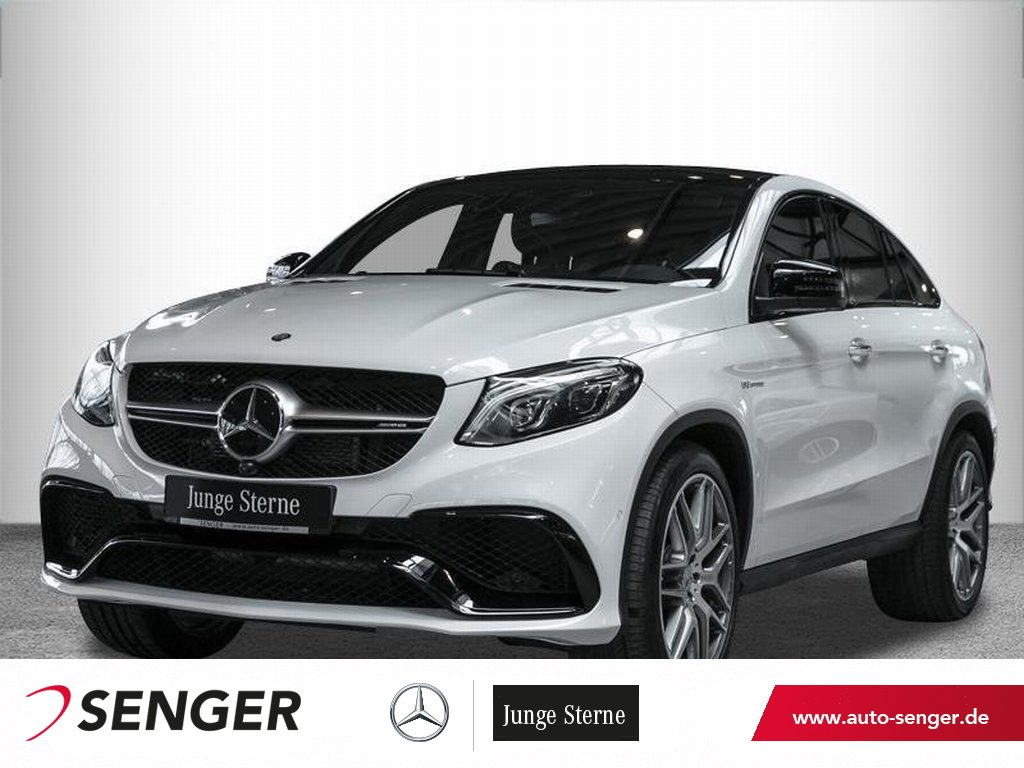 Mercedes-Benz GLE 63 AMG S Coupé Panorama AHK Distronic 360°K., Jahr 2016, Benzin