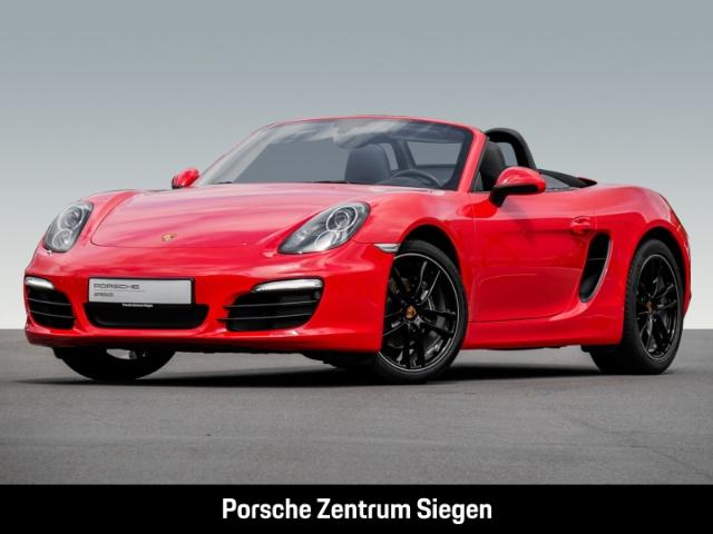 Porsche Boxster NAVI*PDC*KLIMA Dyn. Kurvenlicht El. Verdeck PDCv+h LED-Tagfahrlicht RDC Klimaautom, Jahr 2015, Benzin