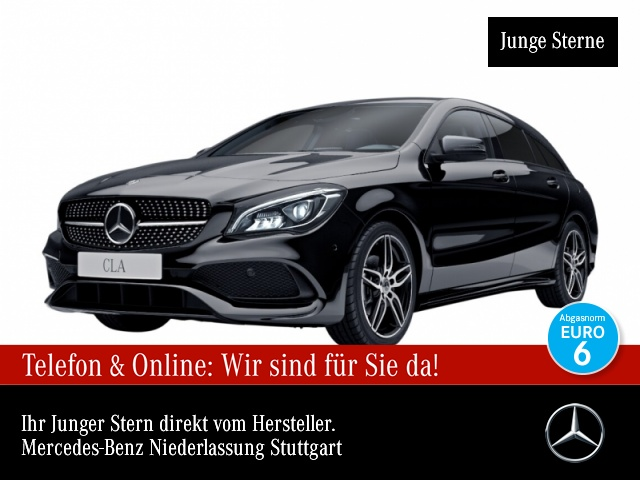 Mercedes-Benz CLA 220 d SB AMG Pano Distr. LED Night Kamera Navi, Jahr 2017, Diesel