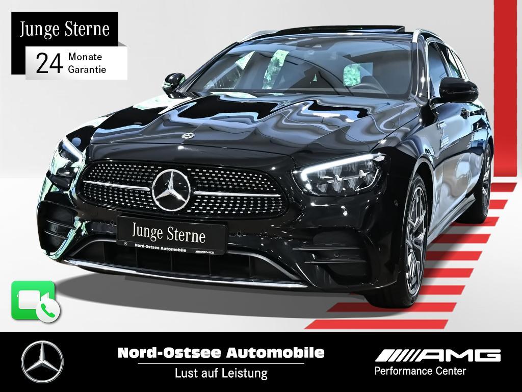 Mercedes-Benz E 200 T 4M AMG Mopf SHD MBUX Rückfahrkamera, Jahr 2020, Benzin