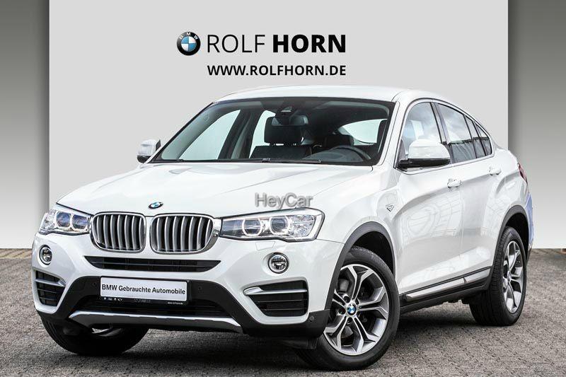 BMW X4 xDrive20d xLine HUD Navi PDC Autom RKam EURO6, Jahr 2015, Diesel