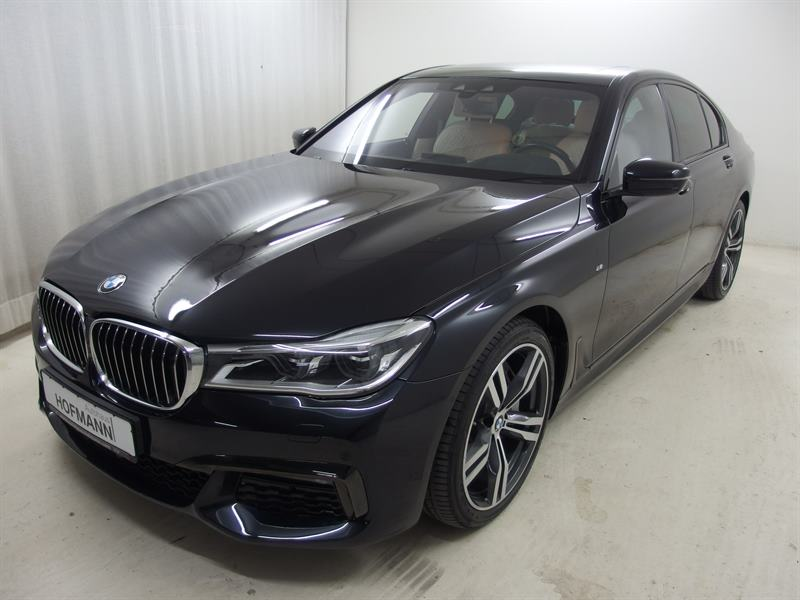 BMW 750ixDriv+20LMR+LED+DAB+Komf.Sitze+Navi+Standhz, Jahr 2015, petrol