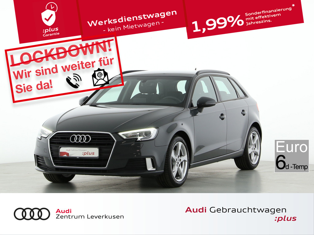 Audi A3 Sportback sport 30, Jahr 2019, Diesel