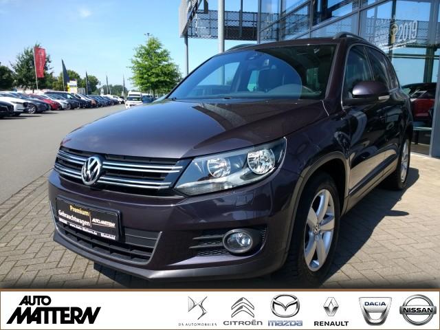 Volkswagen Tiguan 1.4 TSI BMT Panorama Sitzh Rückfahrk. AHK, Jahr 2015, Benzin