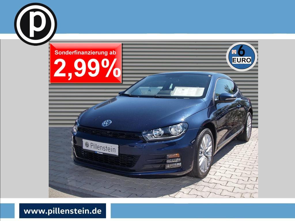 Volkswagen Scirocco Sport 2.0 TSI KLIMA SITZH PARKLENK 17`, Jahr 2015, Benzin
