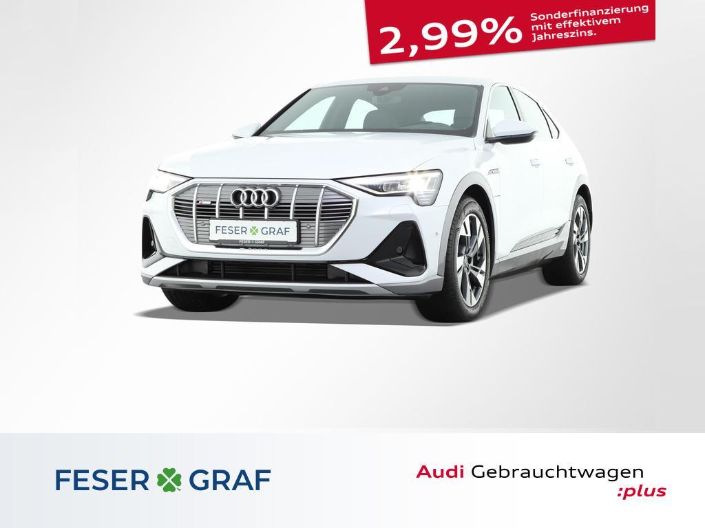 Audi e-tron Sportback S line 50 quattro Luft B&O 20`, Jahr 2021, Elektro