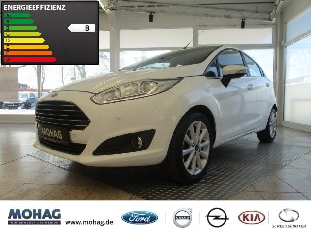 Ford Fiesta Titanium 1,0l *Navi-Klima-Bluetooth-USB* -Euro 6-, Jahr 2017, Benzin