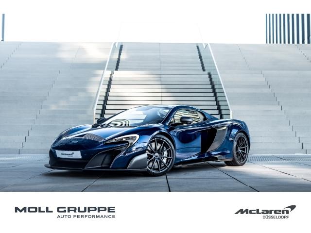 McLaren 675LT Spider MSO Visual Carbon Body Candy Blue, Jahr 2017, Benzin