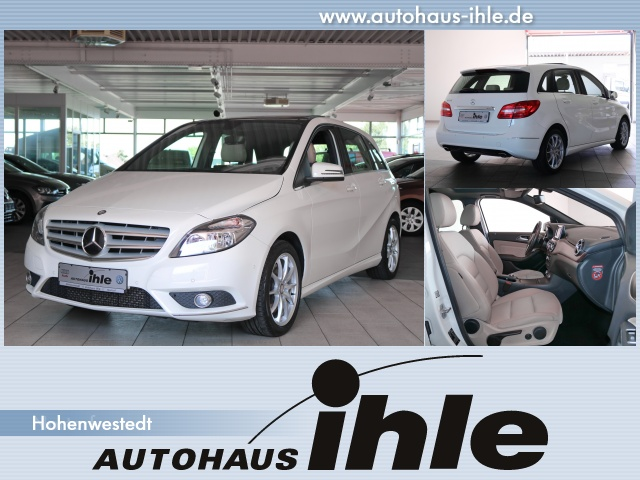 "Mercedes-Benz B250 2,0 BlueEfficiency 7-Gang DCT PDC+Klima+17"", Jahr 2013, petrol"