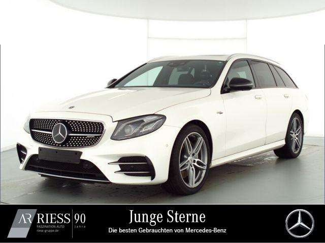 Mercedes-Benz E 53 AMG 4M T Com LED Distr Schiebe AHK Wide Sta, Jahr 2019, Benzin