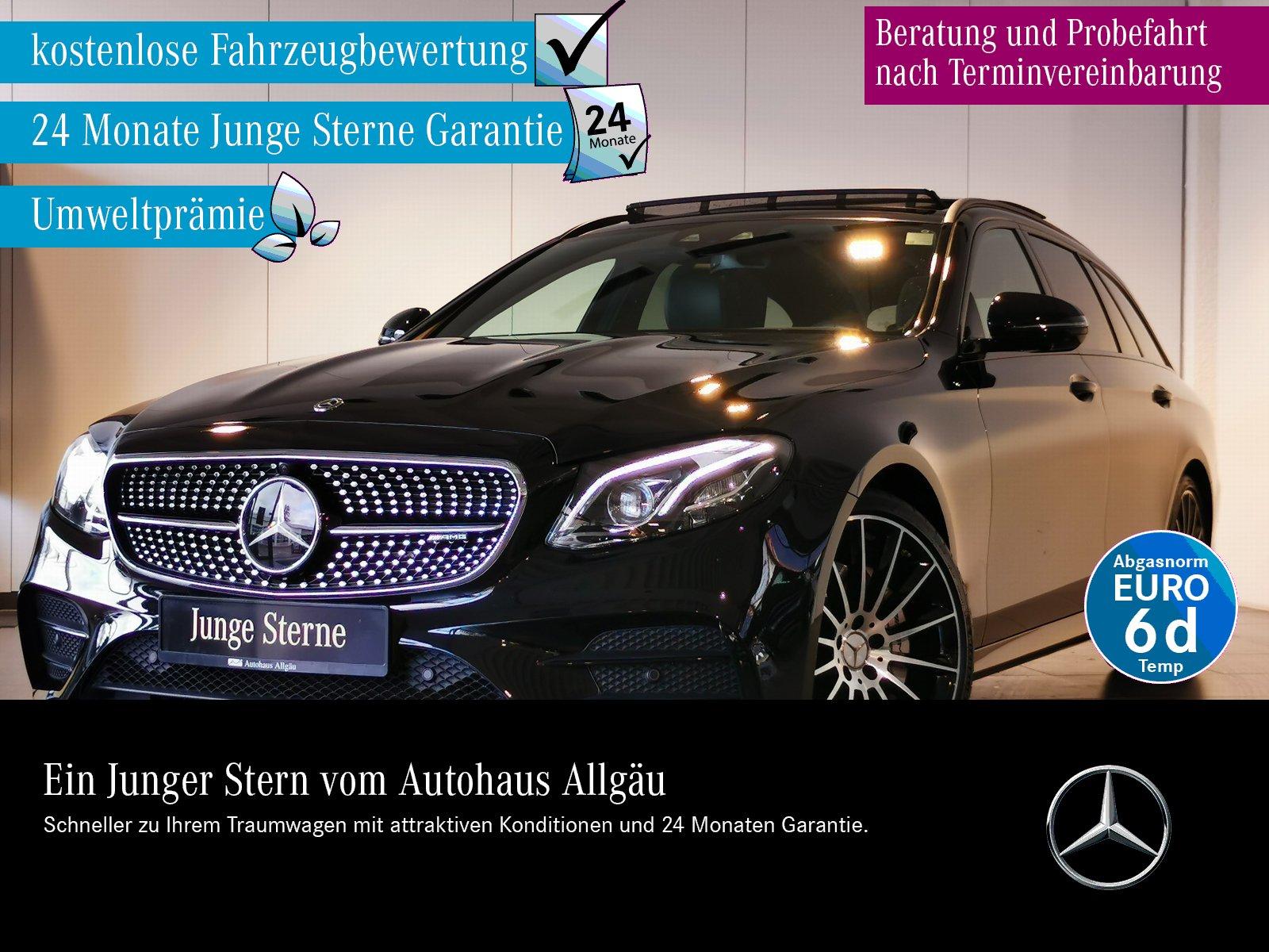 Mercedes-Benz E 53 AMG T 4M+ ILS+COMAND+DISTRONIC+STANDHZG+360, Jahr 2018, Benzin