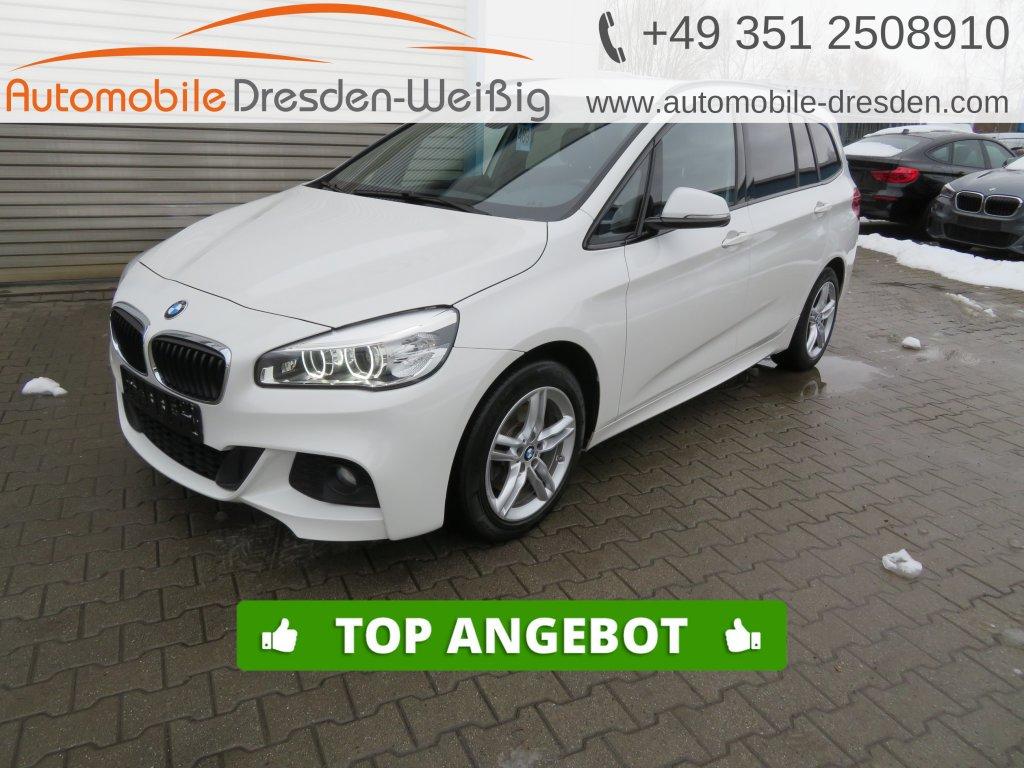 BMW 218 Gran Tourer d xDrive M Sport*Navi*Kamera*AHK, Jahr 2016, Diesel