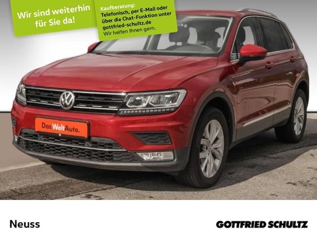 Volkswagen Tiguan 2,0 TDI DSG 4M NAVI LED E-HECK ERGO-SITZ Highline, Jahr 2016, Diesel