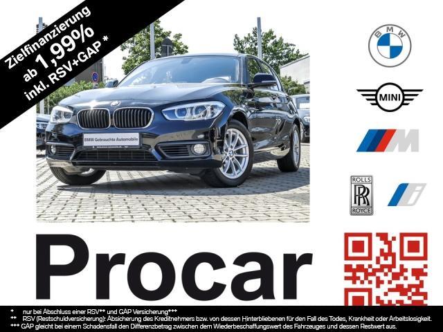 BMW 120i Advantage LM PDC Sitzhzg. Vorn Lederlenkrad, Jahr 2017, Benzin