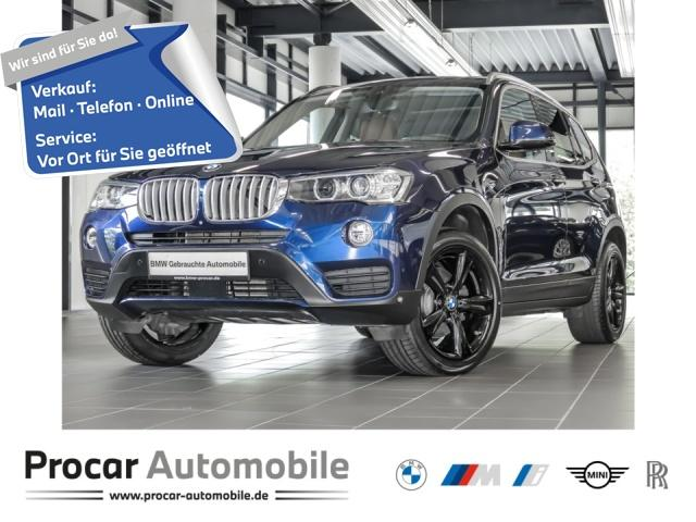 BMW X3 xDrive30d 19'' Pano DA+ HuD Standhzg, Jahr 2017, Diesel
