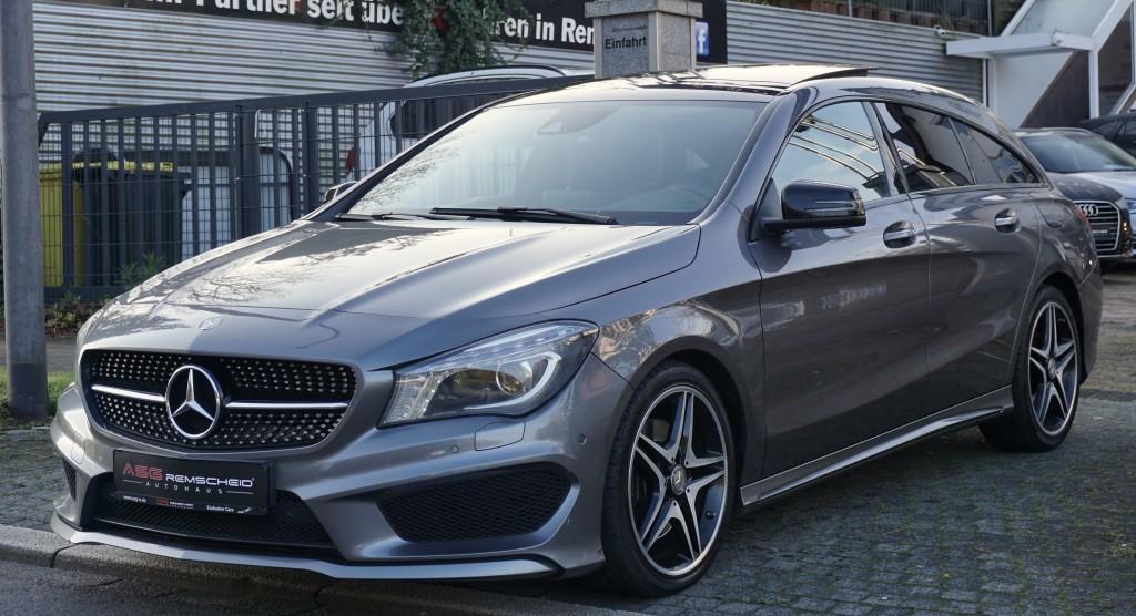 Mercedes-Benz CLA 220 CDI Shooting break 7G-Tr AMG Line *Pano*, Jahr 2015, Diesel