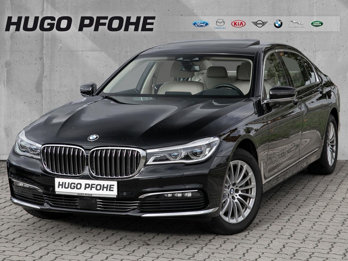 BMW 730Ld / Navi / Laserlicht / HUD / Massagesitze, Jahr 2017, Diesel