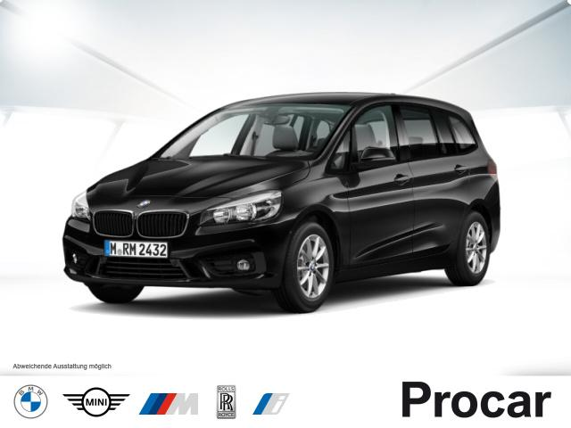 BMW 218 Gran Tourer Navi Sportsitze Klimaaut. AHK, Jahr 2017, Diesel