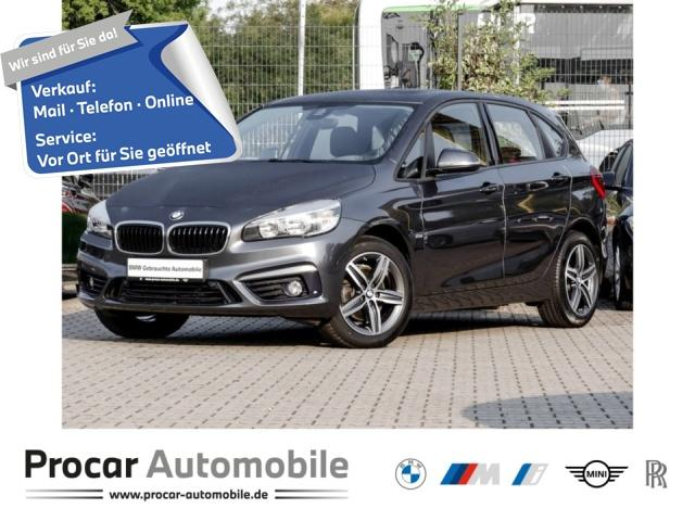 BMW 220 Active Tourer Sport Line Aut. Panorama PDC, Jahr 2017, Diesel