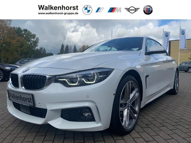 BMW 440 i xDrive M Sport Cabrio EU6d-T LED HUD Navi Temp Klima, Jahr 2018, Benzin