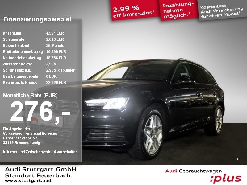 Audi A4 Avant Sport 2.0 TDI S tronic Kamera VirtCockp, Jahr 2017, Diesel