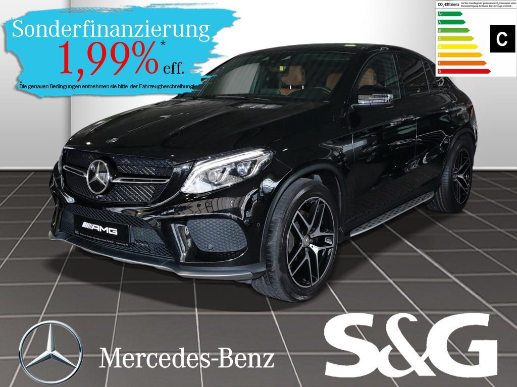 Mercedes-Benz GLE 450 AMG 4MATIC Distronic/PanoDach/360°/Navi/, Jahr 2015, Benzin