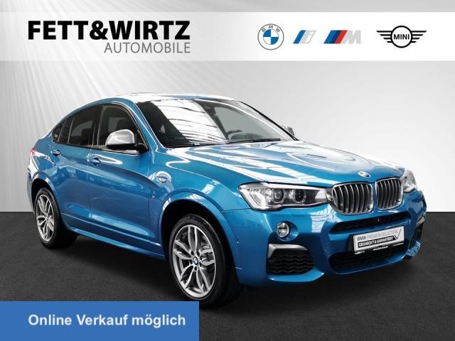 BMW X4 M40i M Sport NaviProf. Kamera Xenon HUD HiFi, Jahr 2017, Benzin