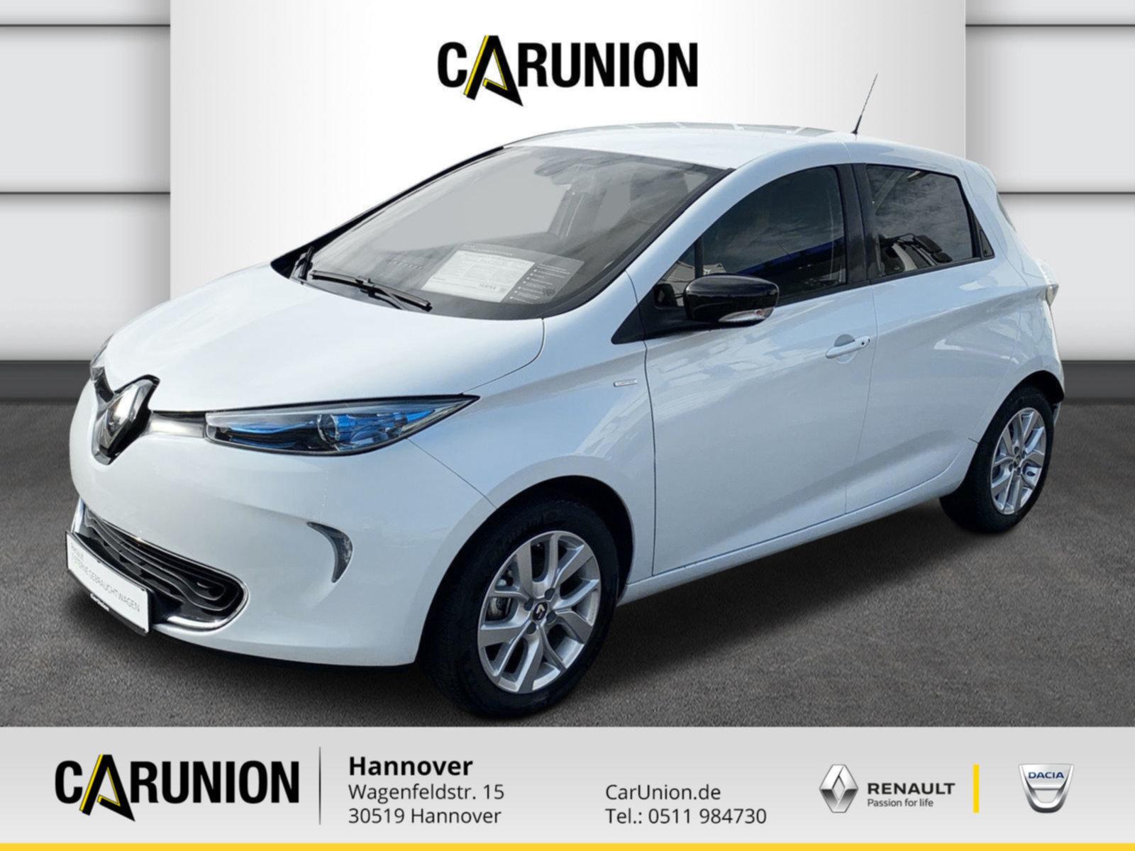 Renault ZOE 41 Kwh LIFE (ohne Batterie) mit Limitedpaket, Jahr 2019, Elektro