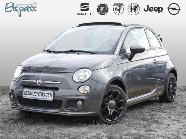 Fiat 500C 500 Cabrio S KLIMA SPT.SITZE PDS CD MP3 BLU, Jahr 2014, Benzin