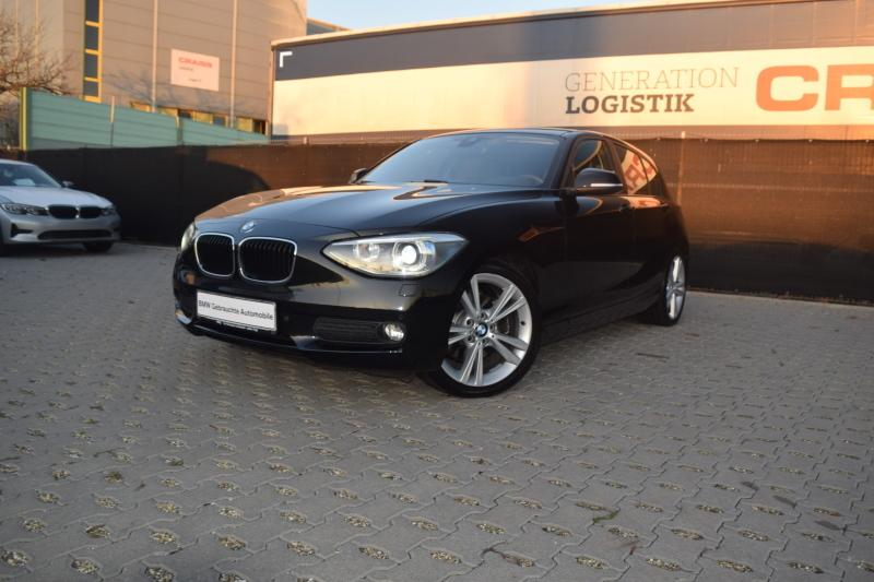 BMW 125D Navi Prof. 18ŽLM Klimaaut. Memory vorn AHK, Jahr 2012, diesel
