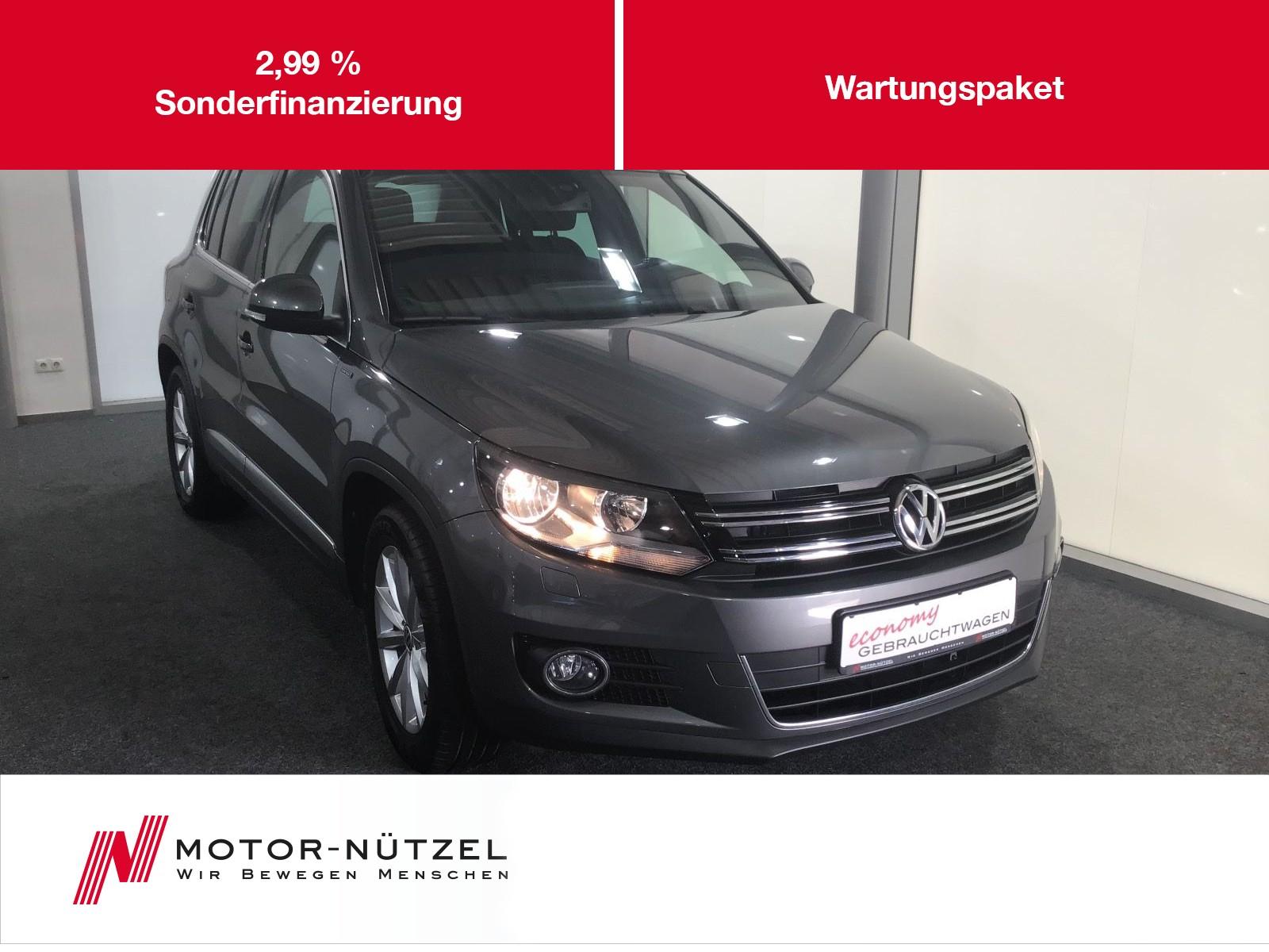"Volkswagen Tiguan 1.4 TSI LOUNGE NAV+SHZ+RFK+GRA+MFA+LM 16"", Jahr 2015, petrol"