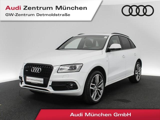 "Audi Q5 3.0 TDI qu. S line 21"" B&O Pano Assistenz Leder Navi Xenon S tronic, Jahr 2017, diesel"