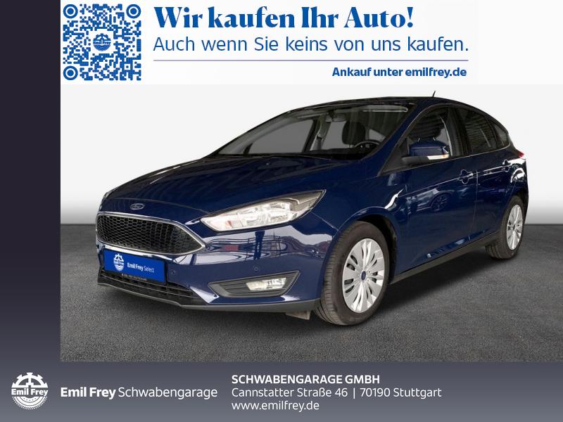 Ford Focus 1.0 EcoBoost Start-Stopp-System Navi Sitzhzg, Jahr 2017, Benzin