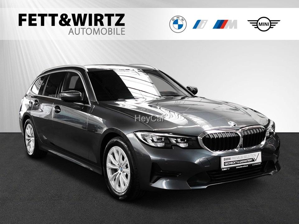 BMW 320d Touring Adv Aut Navi+ Pano HUD Sportsitze, Jahr 2020, Diesel