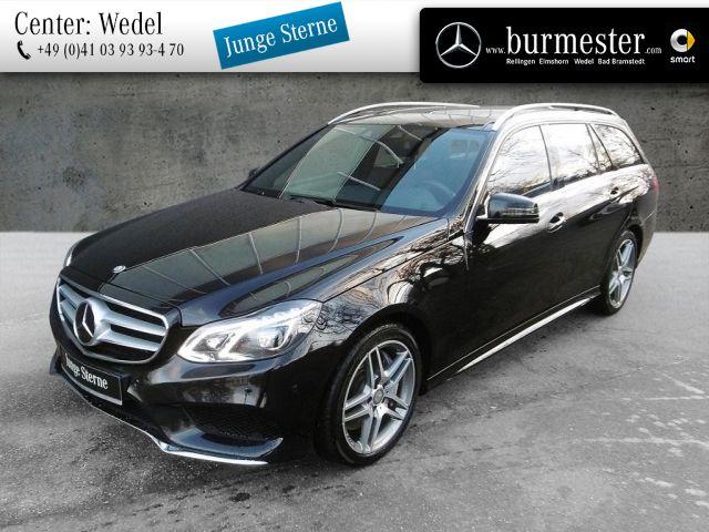 Mercedes-Benz E 500 4M T AMG+Avantgarde+Designo+Burmester, Jahr 2014, Benzin