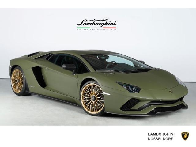 Lamborghini Aventador S Verde Baca, Ad Personam, Full Carbon, Jahr 2018, Benzin