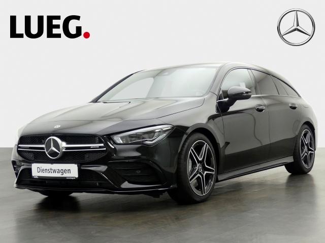 Mercedes-Benz CLA 35 AMG 4M NIGHT+MULTIBEAM, Jahr 2019, petrol