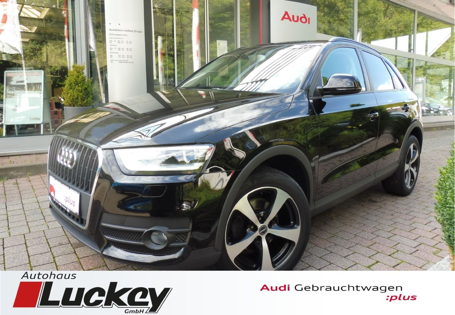 Audi Q3 2.0 TDI 6-Gang+XENON+Sitzheizung+APS++, Jahr 2012, Diesel